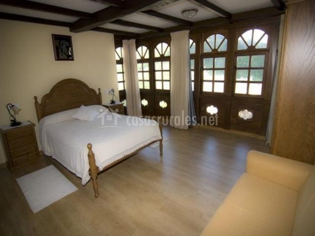 Apartamentos el mirador de taramundi en taramundi asturias - Sofa dormitorio ...