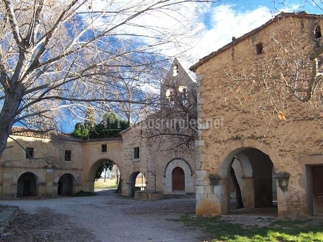 Casa rural mas sant de pau en alboc sser castell n - Casa rural santa pau ...