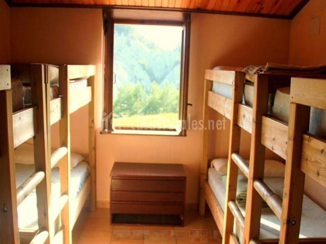 Dormitorio refugio