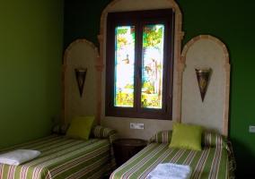 Dormitiorio verde