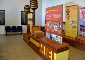 Interior del Museo de la Miel