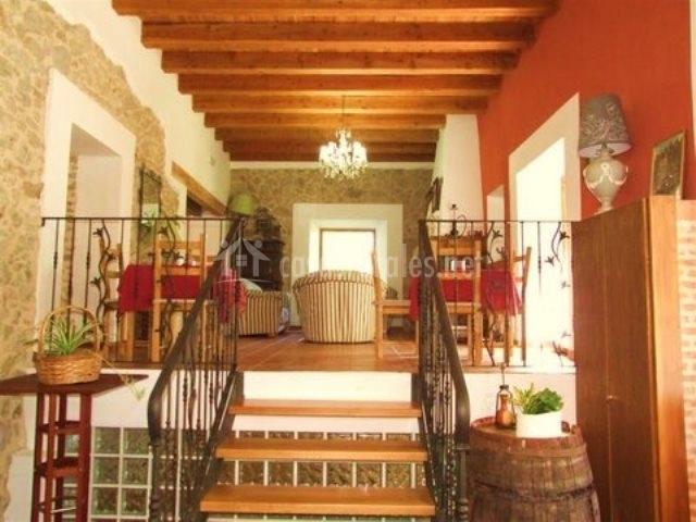 Palacio canalejas en otero de herreros segovia for Sala de estar noche