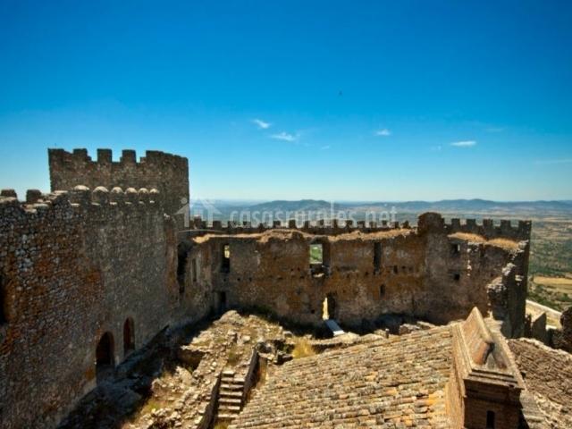Zona del castillo por dentro