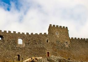 Zona centro con el castillo