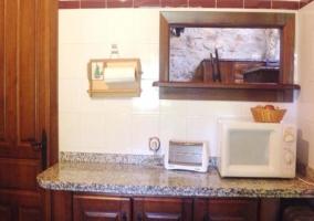 Barra de cocina/Pasaplatos