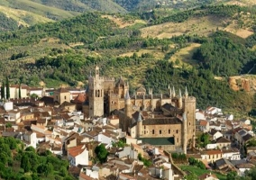 Zona del monasterio de Guadalupe