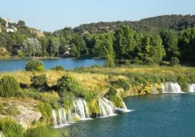 Zona de las Lagunas de Ruidera