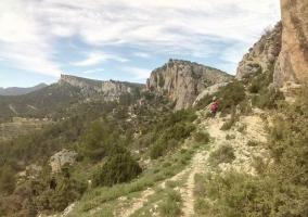 Zonas naturales para hacer senderismo