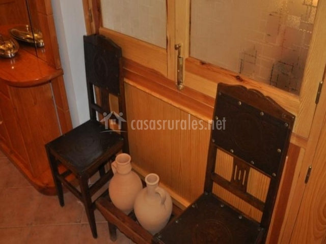 Sala de estar con sillas