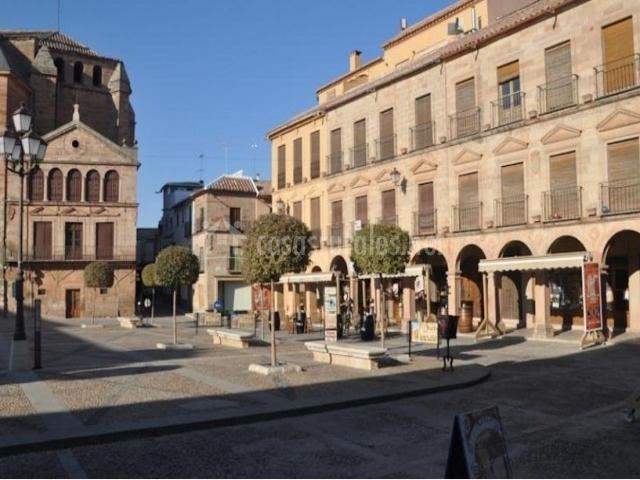 Zona centro con la plaza
