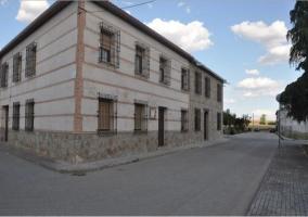 Vistas de la fachada de la vivienda