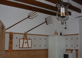 Cocina con detalles tradicionales