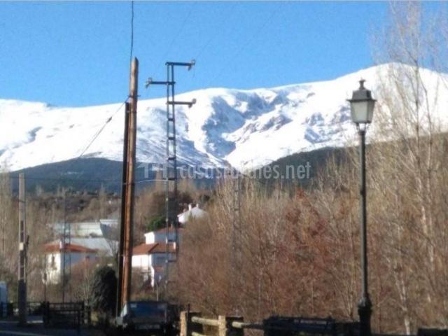 Zona de picos nevados