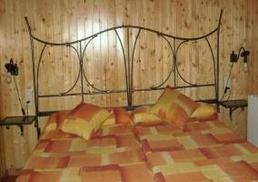 2 camas individuales unidas