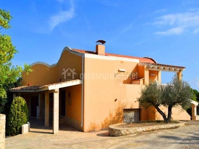 Guila dauada mar y sol 5 casa rural en l 39 ametlla de mar tarragona - Casa rural ametlla de mar ...