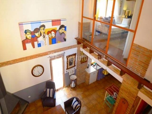 Casa la rocha en chulilla valencia for Sala de estar vista desde arriba