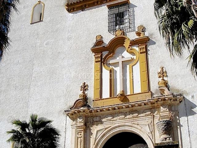 Zona de la iglesia de la Santa Cruz