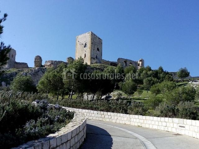 Zona del castillo de Teba
