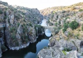 Zona de paisajes naturales de La Hiruela