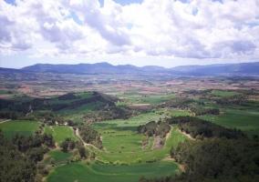 Zona natural de paisajes
