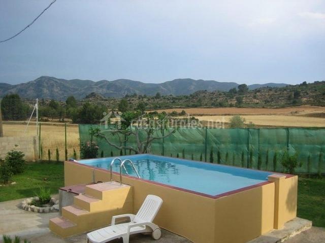 Casa rural prado alto casas rurales en foz calanda teruel - Casas rurales teruel con piscina ...