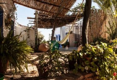 Vistas del porche de la vivienda entre plantas