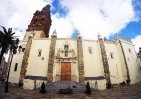 Zona del centro de Jerez de los Caballeros