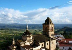 Zona del patrimonio de Jerez de los Caballeros