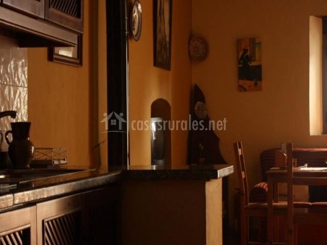 La zafrilla apartamento en jerez de los caballeros badajoz for Sala de estar y cocina