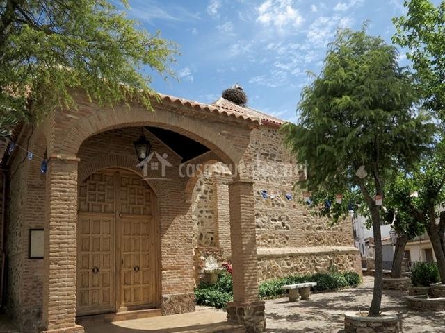 Iglesia parroquial de Alcoba de los Montes