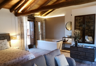 Suite - Casas de Outeiro - Samos (Casco Urbano), Lugo