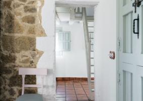 Detalles de la casa con muebles