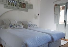 Dormitorio doble con la mejor vista