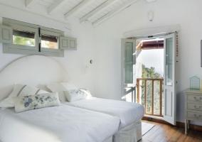 Dormitorio doble con las mejores vistas