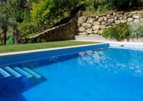Vistas de nuestra piscina para disfrutar