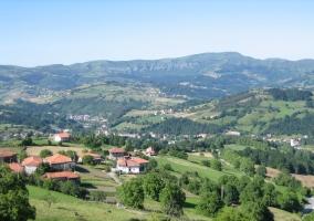 Vista del valle de Carranza