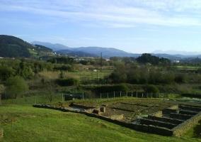 Zona de restos de un poblado romano