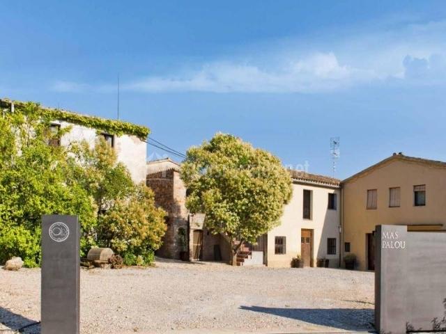 Mas palou en el pla del penedes barcelona - Casas rurales bcn ...