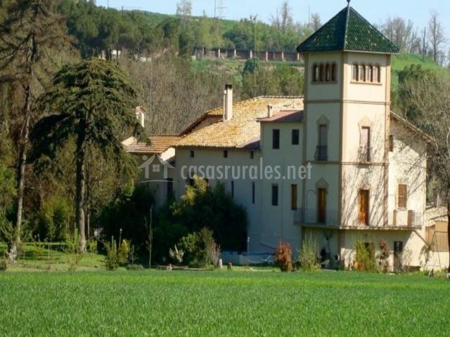 Mas la riera en vic barcelona - Casas rurales bcn ...