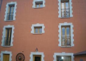 fachada alojamiento