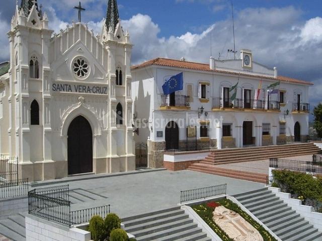 Zona de la plaza del convento