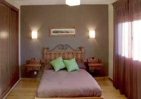 Dormitorio chocolate