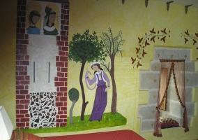 Pintura mural Atalaya