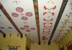 Atalaya estucos techo