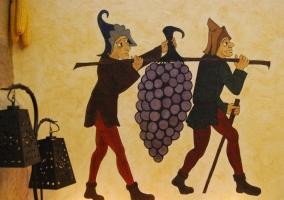 mural uvas