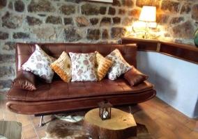 detalle de sofá casa 1
