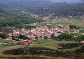 Zona centro de nuestro pueblo entre naturaleza