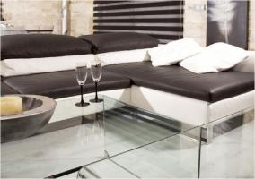 Sofá con chaise long