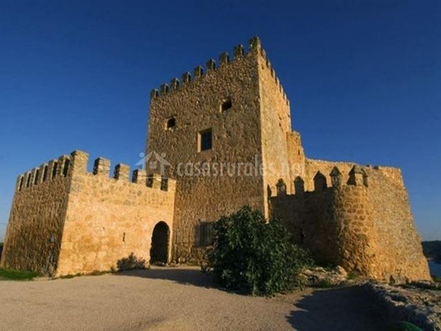 Zona centro del castillo