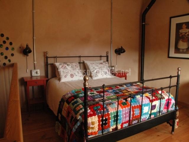 Apartamentos dúplex: cama